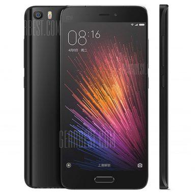 $ 383 với phiếu giảm giá cho XiaoMi Mi5 4G Smartphone Black từ Gearbest