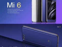 $399 with coupon for Xiaomi Mi 6 4G Smartphone  –  INTERNATIONAL VERSION 6GB RAM 64GB ROM BLACK EU Warehouse from GearBest
