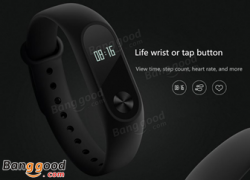 20% OFF for Xiaomi Miband 2 from BANGGOOD TECHNOLOGY CO., LIMITED