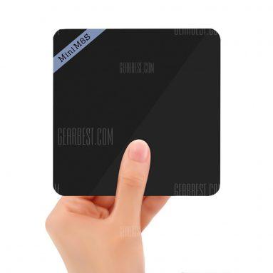 $ 36 flashsale pre Mini M8S II 4K Smart TV Box AmLogic S905X Quad Core procesor - 2GB + 16GB EU PLUG od Gearbest