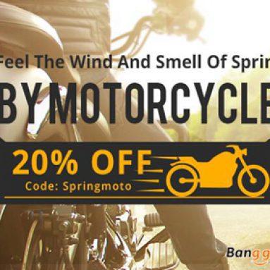Giảm giá 20% cho các sản phẩm xe máy từ CÔNG TY TNHH CÔNG NGHỆ BANGGOOD