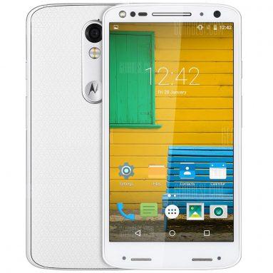 $ 247 với phiếu giảm giá cho Motorola MOTO X (1581) 4G Smartphone - WHITE từ GearBest
