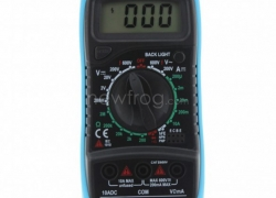 Digital LCD Multimeter, Free Shipping, $7.55 Now from Newfrog.com