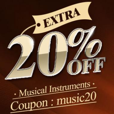20% OFF pro hudební nástroje Rockback se zabývá společností BANGGOOD TECHNOLOGY CO., LIMITED