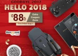 2018 New Year Promotion- Up to 88% OFF for All Categories from BANGGOOD TECHNOLOGY CO., LIMITED
