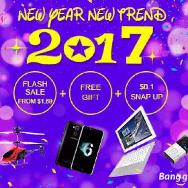 2017 Banggood Sneak Peak nový trend od společnosti BANGGOOD TECHNOLOGY CO., LIMITED