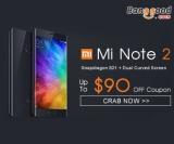 Up to $90 OFF Super Presale for Xiaomi Note 2 5.7 inch Dual Curved Screen from BANGGOOD TECHNOLOGY CO., LIMITED
