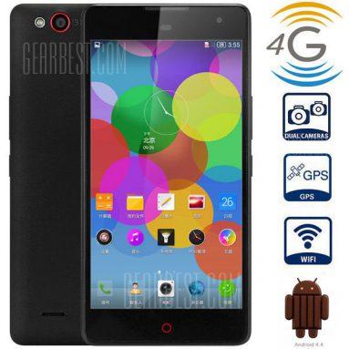 $ 96 với Nubia Z7 MAX Android 5.1 4G Phablet với màn hình IPS 5.5 inch FHD