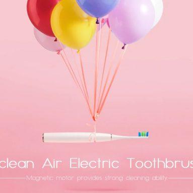 $ 36 với phiếu giảm giá cho Bàn chải đánh răng điện Sonic thông minh mạnh mẽ Oclean Air màu trắng ấm từ GEARBEST