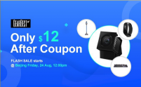 Only 12$ after coupon – Promo starts 24 August 23.59h Beijing time  from GEARBEST