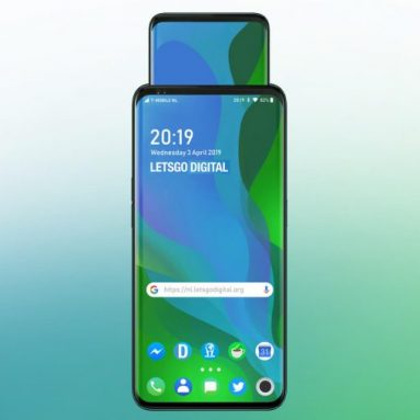 OPPO Applied for Patents With Pop-Up Screen