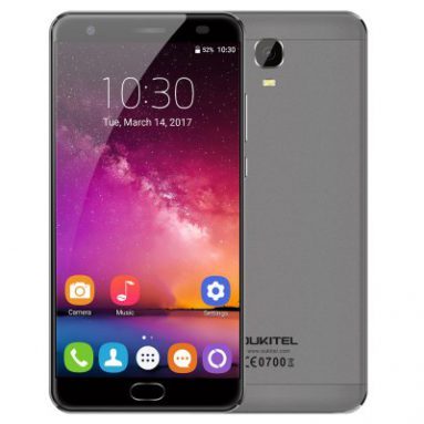 "Extra $9 OFF  OUKITEL K6000 Plus 5.5"" Octa-core 4G Phone w/ 4GB RAM 64GB ROM $170.99 from DealExtreme"
