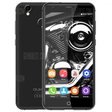 $81 with coupon for Oukitel K7000 4G Smartphone black from GearBest