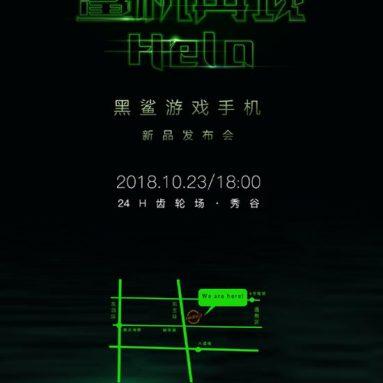Xiaomi Black Shark 2 Prichádza v októbri 23