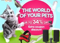 6% OFF The World of Pets from HongKong BangGood network Ltd.