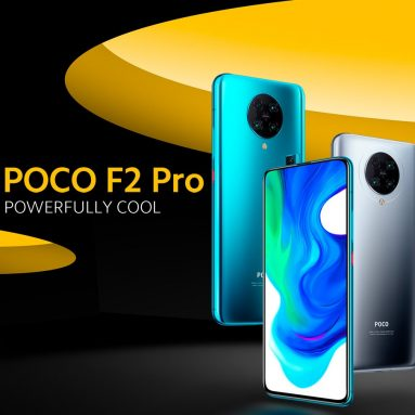 €457 with coupon for Xiaomi POCO F2 Pro Global Version 6.67 inch Snapdragon 865 4700mAh 30W Fast Charge 64MP Camera 8K Video 6GB 128GB 5G Smartphone from BANGGOOD