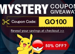 Pokemon GO and Mystery Coupon from TinyDeal