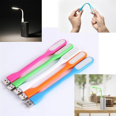 57% OFF para sa Portable Xiaomi Mini Maaaring mapawi 5V 1.2W USB LED Light Lamp para sa Power Bank & Computer mula sa TinyDeal