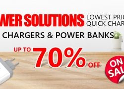 Lowest Prices Up to 70% OFF Chargers & Power Banks from Zapals