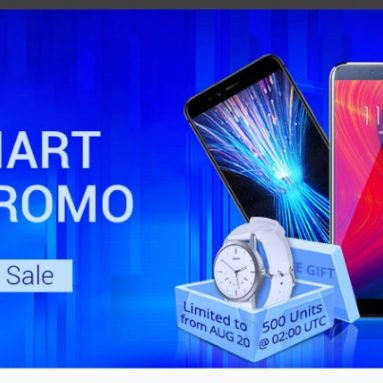 LENOVO SUPERSALE from GEARBEST! Buy a smartphone and get for FREE a Lenovo Watch 9