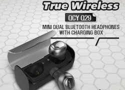 40% OFF for QCY Q29 Mini Wireless Bluetooth Earphone With Charging Box from BANGGOOD TECHNOLOGY CO., LIMITED