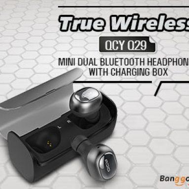 40% OFF cho QCY Q29 Mini Wireless Bluetooth Tai nghe với hộp sạc từ BANGGOOD TECHNOLOGY CO., LIMITED