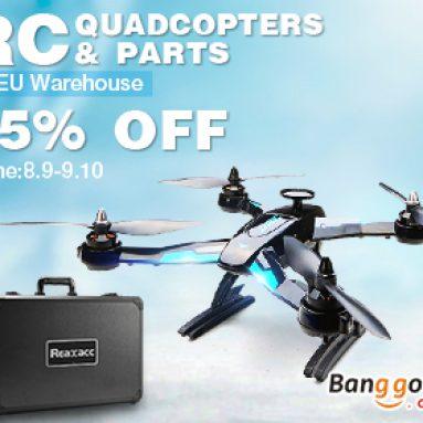 15% OFF RC Quadcopter & bộ phận khuyến mãi trong kho EU từ BANGGOOD TECHNOLOGY CO., LIMITED