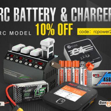 10% OFF pro nabíjení a nabíjení RC baterií od společnosti BANGGOOD TECHNOLOGY CO., LIMITED