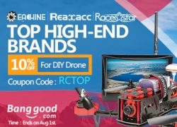 10% OFF for RC TOP Brand from BANGGOOD TECHNOLOGY CO., LIMITED