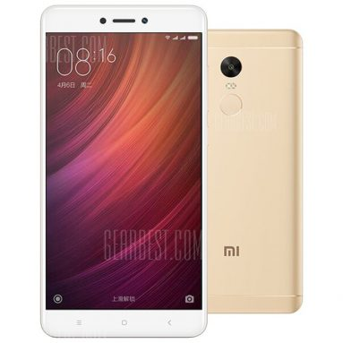 $136 with coupon for Xiaomi Redmi Note 4X 4G Phablet – 3GB RAM 32GB ROM CHAMPAGNE from GearBest