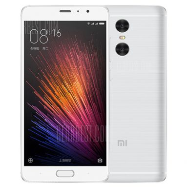 $183 with coupon for Xiaomi Redmi Pro 32GB 4G Phablet – CHINESE AND ENGLISH VERSION SILVER from GearBest