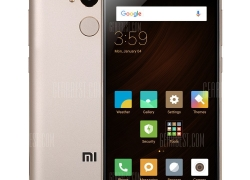 $139 with coupon for Xiaomi Redmi 4 4G Smartphone 3GB RAM 32GB ROM Golden from GearBest