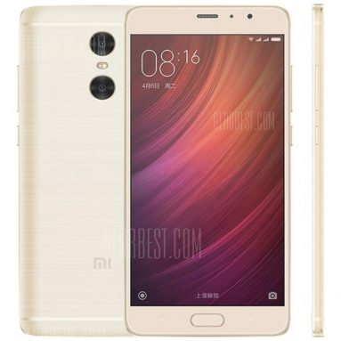 $180 with coupon for Xiaomi Redmi Pro 4G Phablet 64GB ROM Golden from GearBest