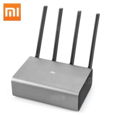 $73 with coupon for Original Xiaomi Mi R3P 2600Mbps Wireless Router Pro from GearBest
