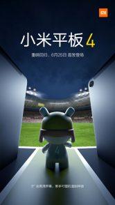Xiaomi Mi Pad 4 Specs List Revealed