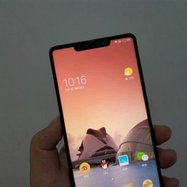 Xiaomi Mi MIX 2S to Use iPhone X-Like Bangs Screen