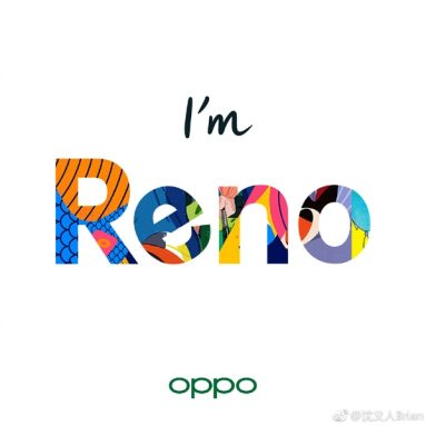 OPPO Launches New Brand, Namely Reno: First Model Arrives on April 10