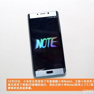 Xiaomi MI Note 2 Tear Down Review