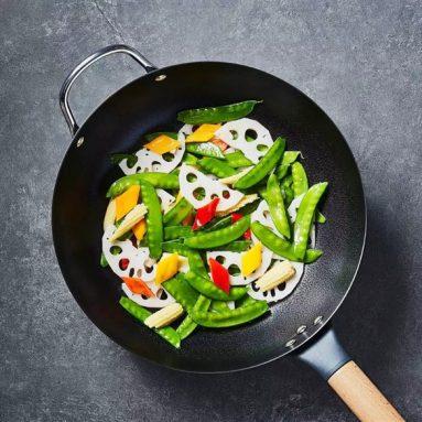 Xiaomi Youpin lancerer ubelagt wok med dobbelt bund: ingen røg i køkkenet