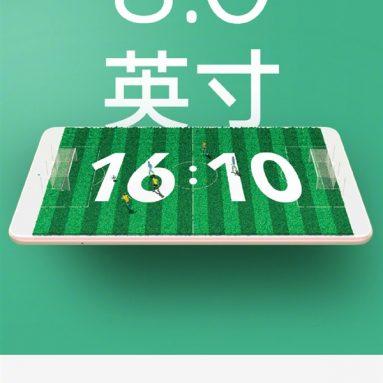 """Xiaomi एमआई पैड 4 खेल 8 """"16 के साथ स्क्रीन: 10 पहलू अनुपात"""