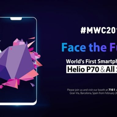 The World's First Helio P70 Phone, Ulefone T2 Pro Coming On Feb. 26