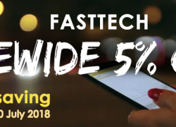 Sitewide 5% Off from FastTech