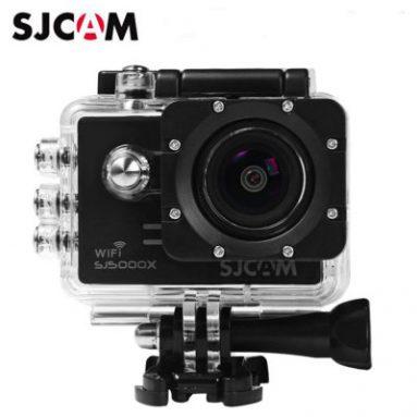 $ 105 flashsale für Original SJCAM SJ5000X 4K Sport Action Kamera (Elite Edition) - BLACK EU-Lager von GearBest