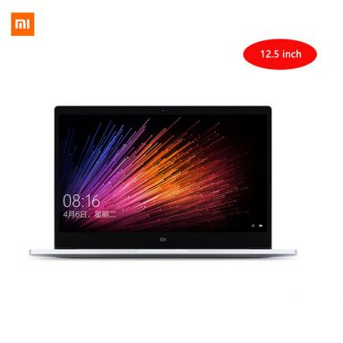 """Extra 9% OFF on International Version Xiaomi Air Windows 10 12.5"""" Laptop w/ 4GB RAM, 128GB ROM at $599.46. Coupon: xiaomiair from DealExtreme"""