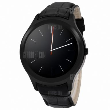 $99 with coupon for NO.1 D5+ Smartwatch Phone – BLACK from GearBest