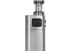 $49 with coupon for Original Smok G80 Kit 80W TC Box Mod Kit with Spirals Tank  –  SILVER  from GearBest