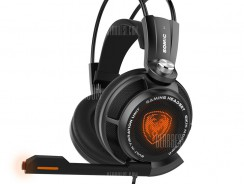 $27 with coupon for Somic G941 7.1 Virtual Sound USB Gaming Headset Black from GearBest