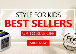 Best Sellers UP to 80% OFF Style for Kids Free Shipping from Zapals