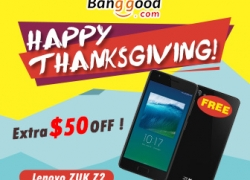 Up to $50 OFF for Thanksgiving Day Carnival! Win gifts by Funny Shopping from BANGGOOD TECHNOLOGY CO., LIMITED