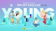 THE POWER OF YOUTH – LATEST GEARBEST PROMOTION